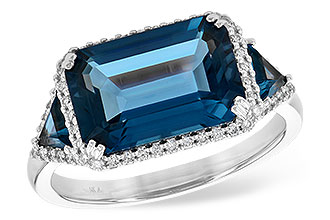 G217-74767: LDS RG 4.60 TW LONDON BLUE TOPAZ 4.82 TGW