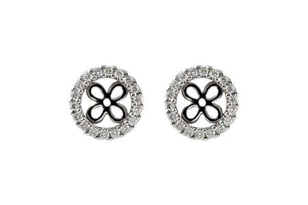 H215-03840: EARRING JACKETS .30 TW (FOR 1.50-2.00 CT TW STUDS)