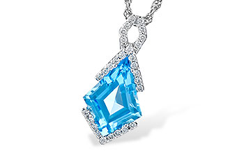 K300-47458: NECK 2.40 BLUE TOPAZ 2.53 TGW