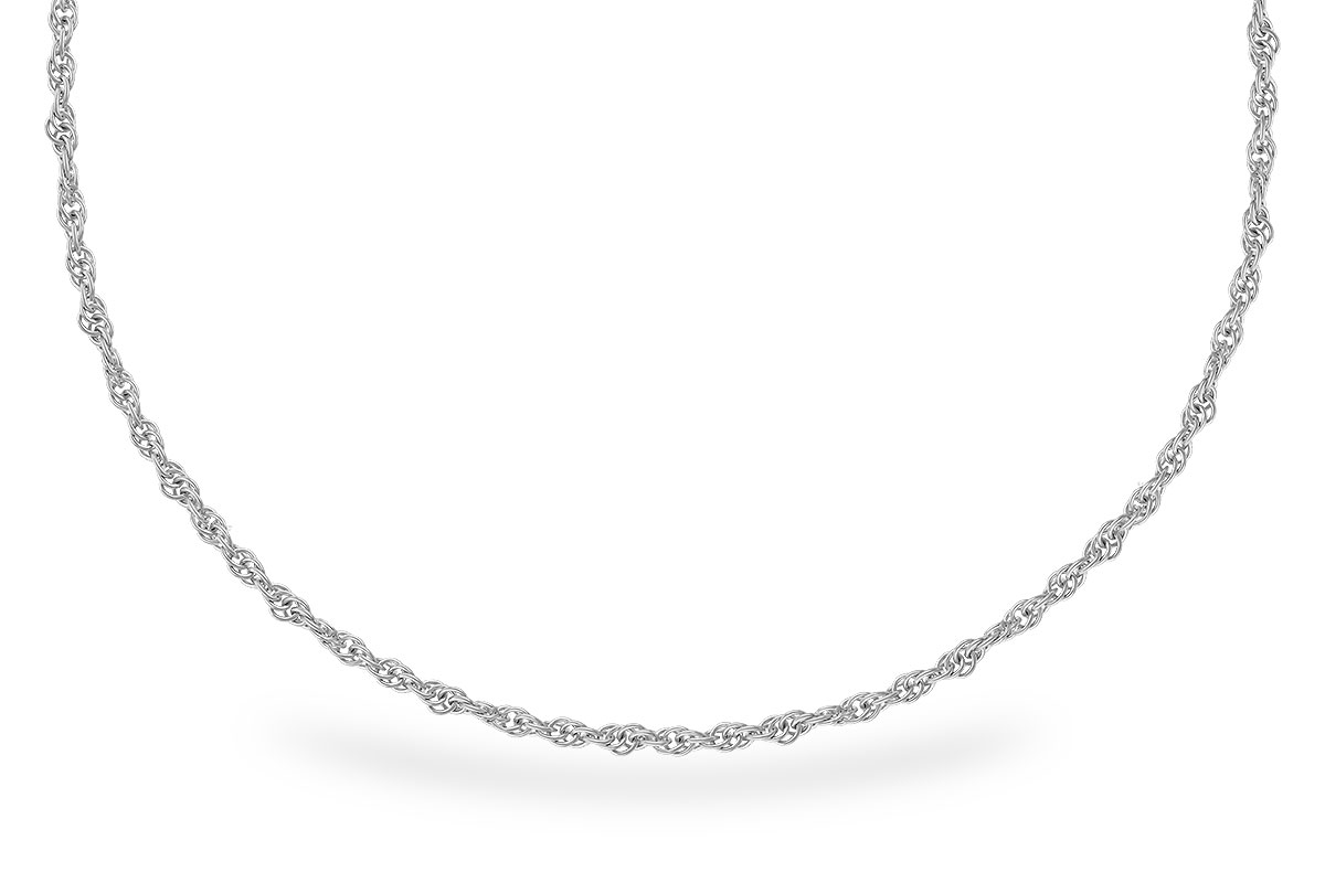 L300-52021: 1.5MM 14KT 22IN GOLD ROPE CHAIN WITH LOBSTER CLASP