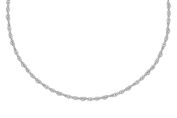 L300-52085: 1.5MM 14KT 16IN GOLD ROPE CHAIN WITH LOBSTER CLASP